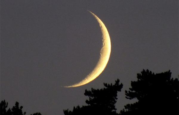 هل يمكن رصد هلال شهر رمضان يوم 5 جوان؟