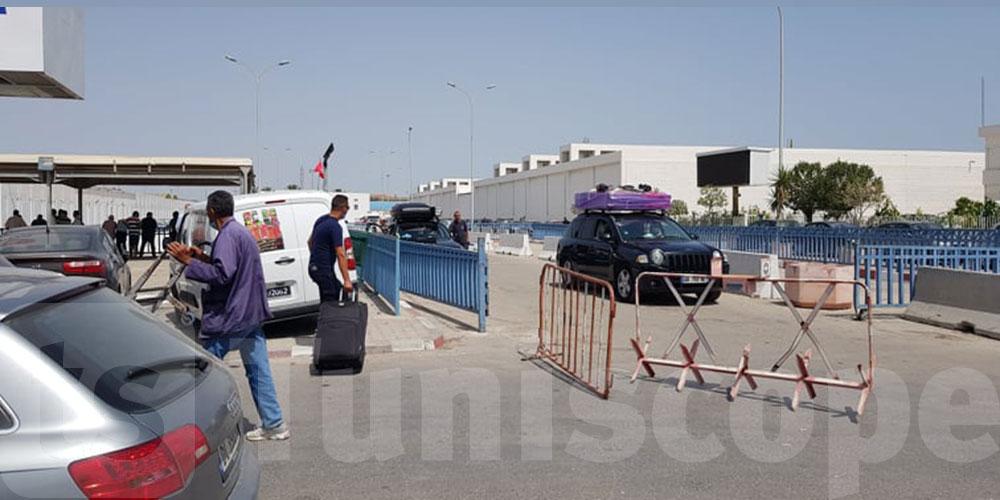 بالصور: وصول أول رحلة بحرية إلى ميناء حلق الوادي