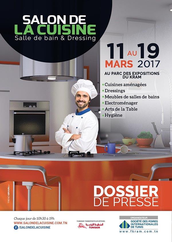 Salon de la cuisine du 11 au 19 mars au Parc des Expositions du Kram