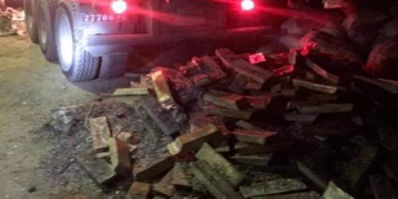 10 tonnes de cuivre saisies par la douane à Sidi Bouzid