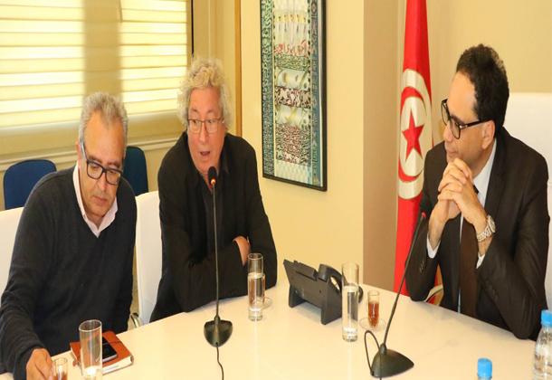 تسليم المهام بين إبراهيم اللطيف ونجيب عياد على رأس أيام قرطاج السينمائية