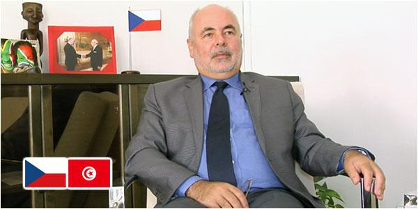 En vidéos, SEM. Jiří Doležel : Le renforcement des relations entre la République Tchèque et la Tunisie passera par les partenariats