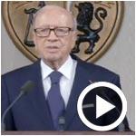 Béji Caid Essebsi : nous sommes en guerre et allons affronter un danger imminent