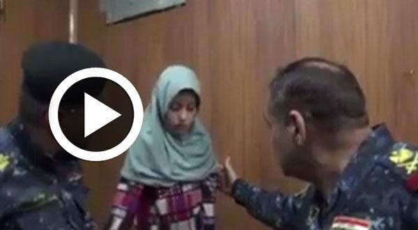 بالفيديو..قصّة طفلة عراقية باعها داعش في سوق الجواري