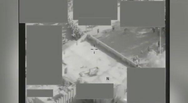 طائرة تمنع 'داعش'الارهابي من تنفيذ عملية إعدام جماعية في دير الزور
