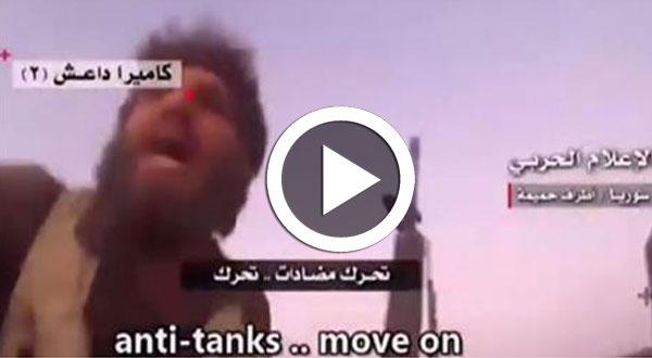 كاميرا الـ«دواعش» تسجل لحظة مقتل عناصر بالتنظيم خلال معارك بسورية