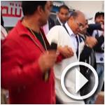 فيديو: منصف المرزوقي يرقص مع شباب جربة على أنغام الثورة التونسية