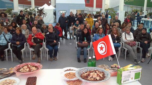 En photos : Grand succès des dattes tunisiennes à l'Expo Milan 2015