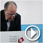 En vidéo : Mustapha Ben Jaafar vote