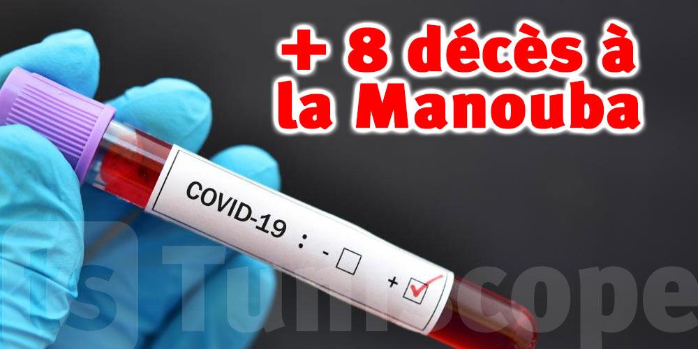 8 nouveaux décès à la Manouba
