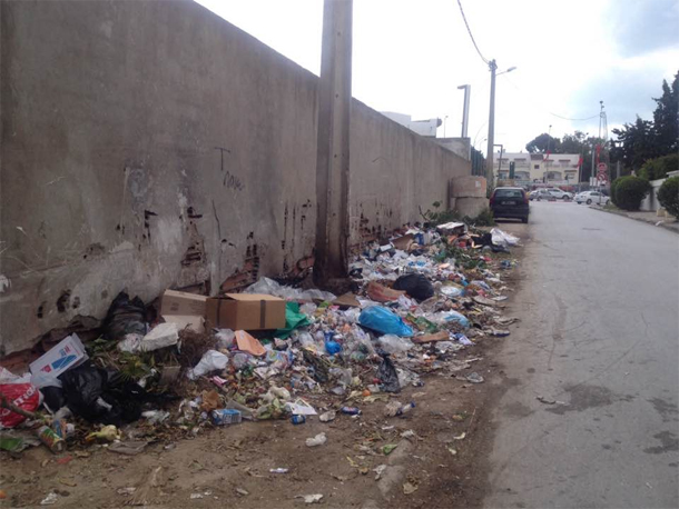 En photo…La Marsa : Le spectacle désolant de déchets qui s'y accumulent...