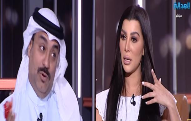 بالفيديو: مذيعة لبنانية تطلب يد فنان كويتي للزواج منها على الهواء