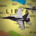 ليبيا: مقتل 4 على الأقل في قصف طائرة مجهولة لدرنة