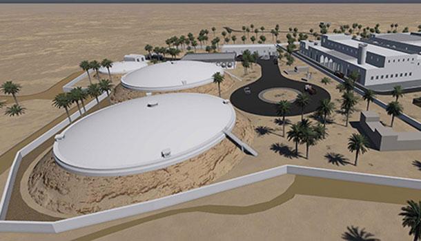 La station de dessalement d'eau de mer de Djerba, prête avant l'été 2017