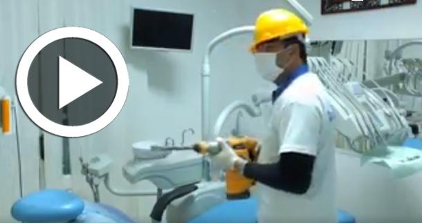 En vidéo : Le détartrage' à la tunisienne' d'après Dr Matoussi....
