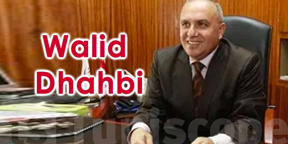 Qui est Walid Dhahbi, proposé ministre de l'Intérieur ?