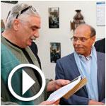 En vidéo : Moncef Marzouki honore le patrimoine judéo-tunisien à la Goulette
