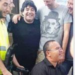 Diego Maradona, en Tunisie pour tourner une publicité