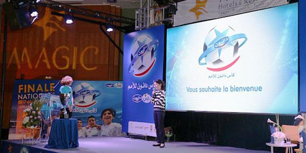 Grande Finale de la 17ème édition de la Danone Nations Cup : Seize équipes à la conquête du rêve américain