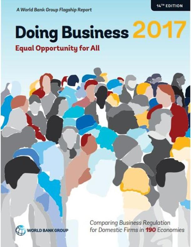 La Tunisie 77ème au classement ''Doing Business 2017''