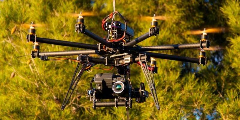 Des drones à caméras thermiques bientôt en circulation