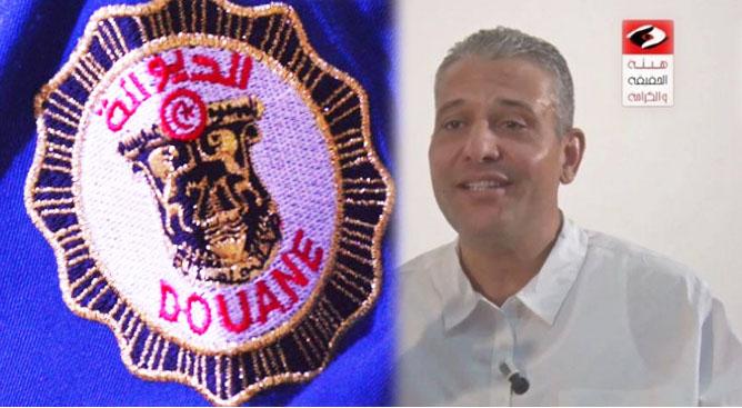 المراقب العام بالادارة العامة للديوانة يرد على تصريحات عماد الطرابلسي