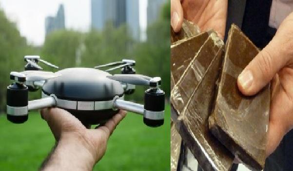 Un drone pour servir de la drogue et des téléphones portables en prison