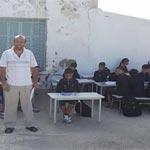 Ecole primaire à Bizerte : Les cours se font dans la cour !