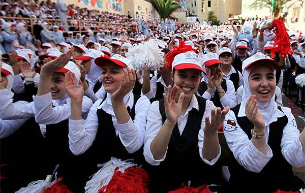  مدرسة فلسطينية تحصد لقب أفضل مدرسة عربية