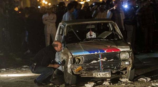 نجاة النائب العام المساعد من انفجار شرقي القاهرة