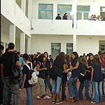 Les élèves des lycées secondaires à Bizerte protestent contre la grève des professeurs