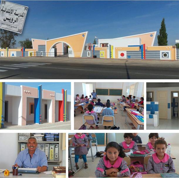 En photo : L'école primaire de Sidi Rouis, une école qui sort de l'ordinaire...