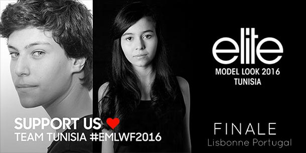 Nadia et Rayan représenteront la Tunisie à la 33ème édition de la finale internationale du concours Elite Model Look