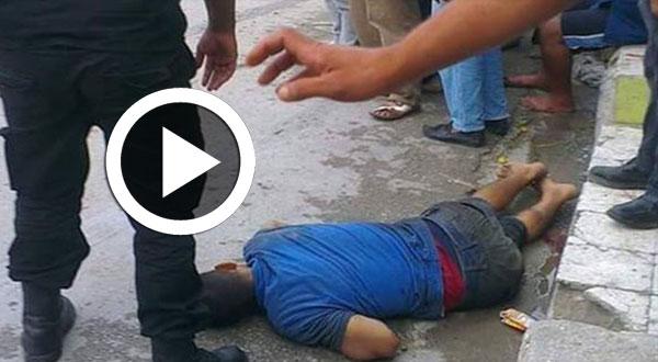 فيديو..حالة احتقان بالكرم على اثر مقتل مواطن دهسا من قبل سيارة أمنية