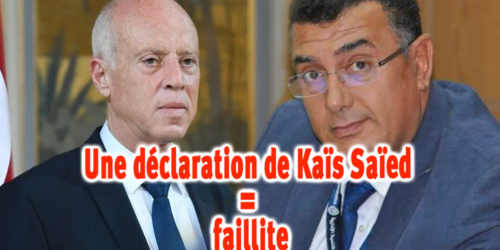Les déclarations de Kaïs Saïed nous mènent à la faillite, selon Iyadh Elloumi