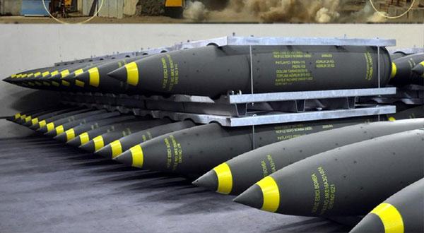 الإمارات تتعاقد مع شركة تركية لشراء قنابل بـ2 مليون دولار