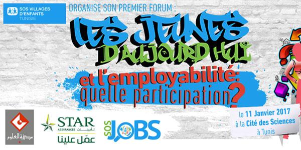 1ère édition du forum pour l'employabilié des jeunes le 11 janvier à la Cité des Sciences