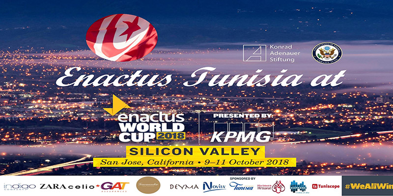 Enactus Tunisia participe dans la compétition internationale Enactus World Cup 2018