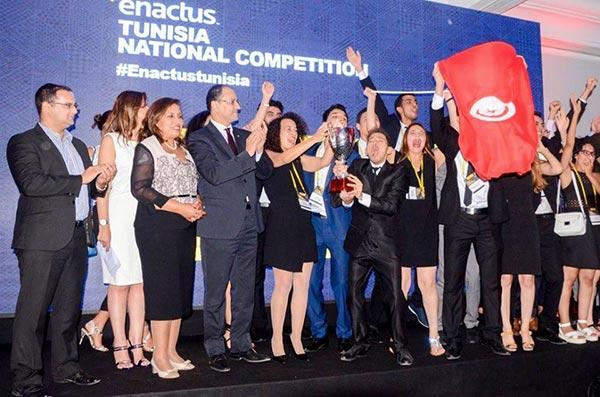 Avec sa victoire, Enactus IHEC célèbre l'Entrepreneuriat social pour la valorisation des métiers