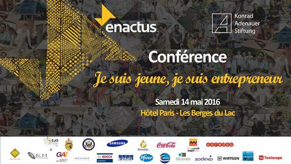Je suis jeune, je suis entrepreneur by Enactus ce samedi 14 mai