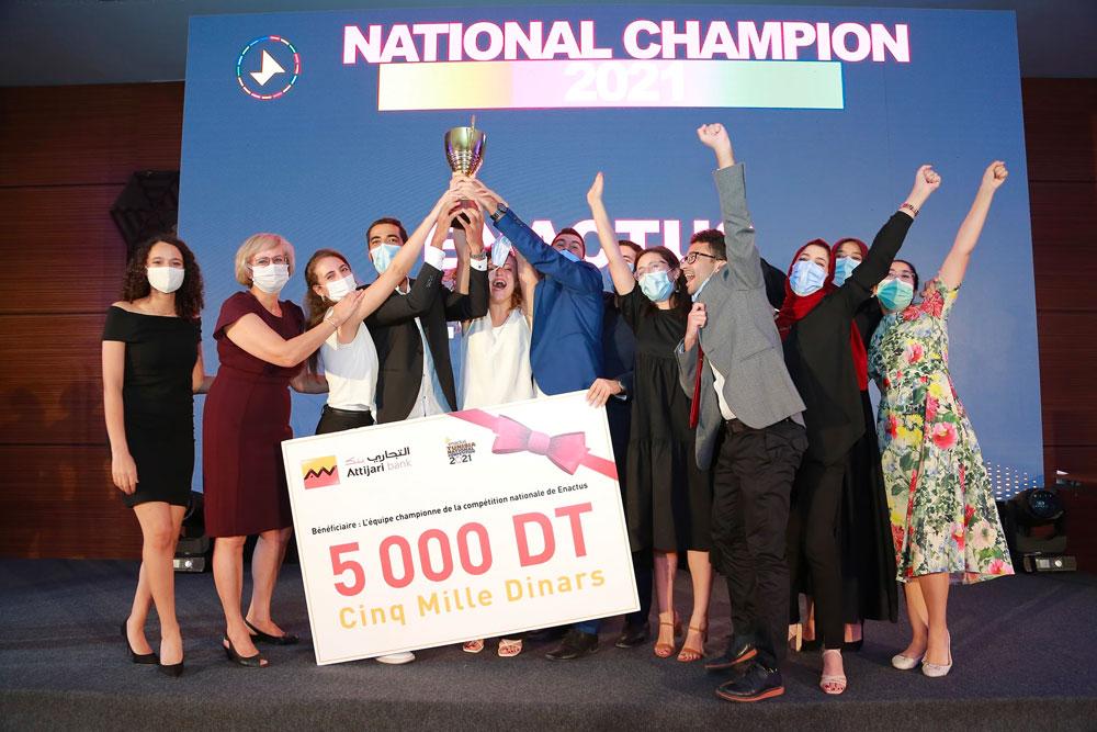 IHEC Carthage sacré Champion Enactus Tunisie 2021