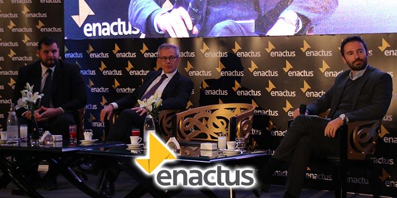 En vidéos : L'avenir des relations avec l'UE vu par les jeunes débattu par Enactus