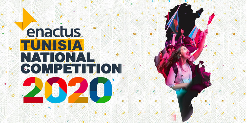 Enactus Tunisia Online National Competition 2020 du 24 au 26 août