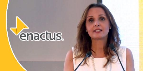 Khaoula Khedimy Boussama : J'espère que les futurs gouvernements seront formés d'alumnis Enactus
