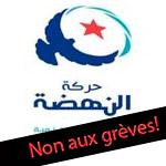 Ennahdha lance une campagne de suspension des grèves