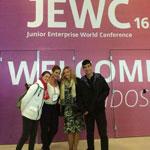 ZOOM sur la participation de l'ENSI Junior Entreprise à la JEWC 2016 au Brésil.