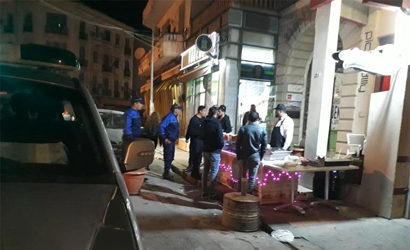 العاصمة: حملة ليلية للشرطة البلدية شملت المقاهي والمطاعم