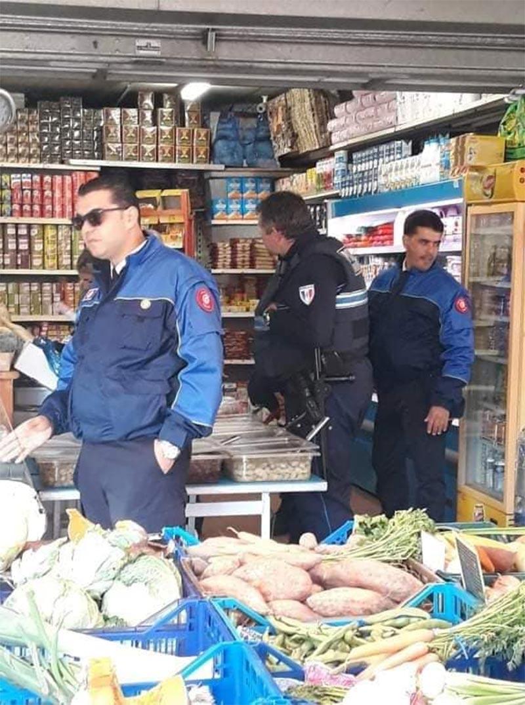 بالصور: الشرطة البيئية التونسية في عمل تطبيقي بشوارع نيس الفرنسية