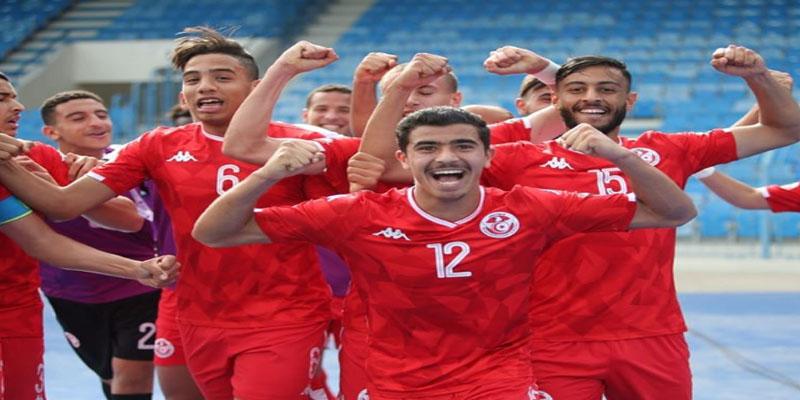 تونس تواجه السنيغال في نهائي كأس العرب للأواسط