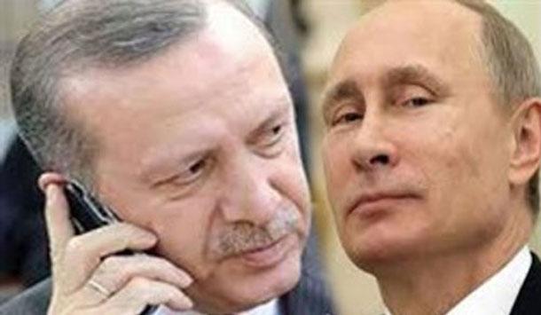 Poutine ne veut pas répondre à mon appel, regrette Erdogan